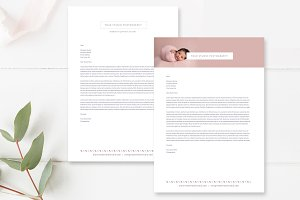 Photographer Letterhead Templates