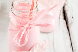 Milkshake for Valentine's Day