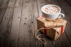 Christmas gifts & hot chocolate