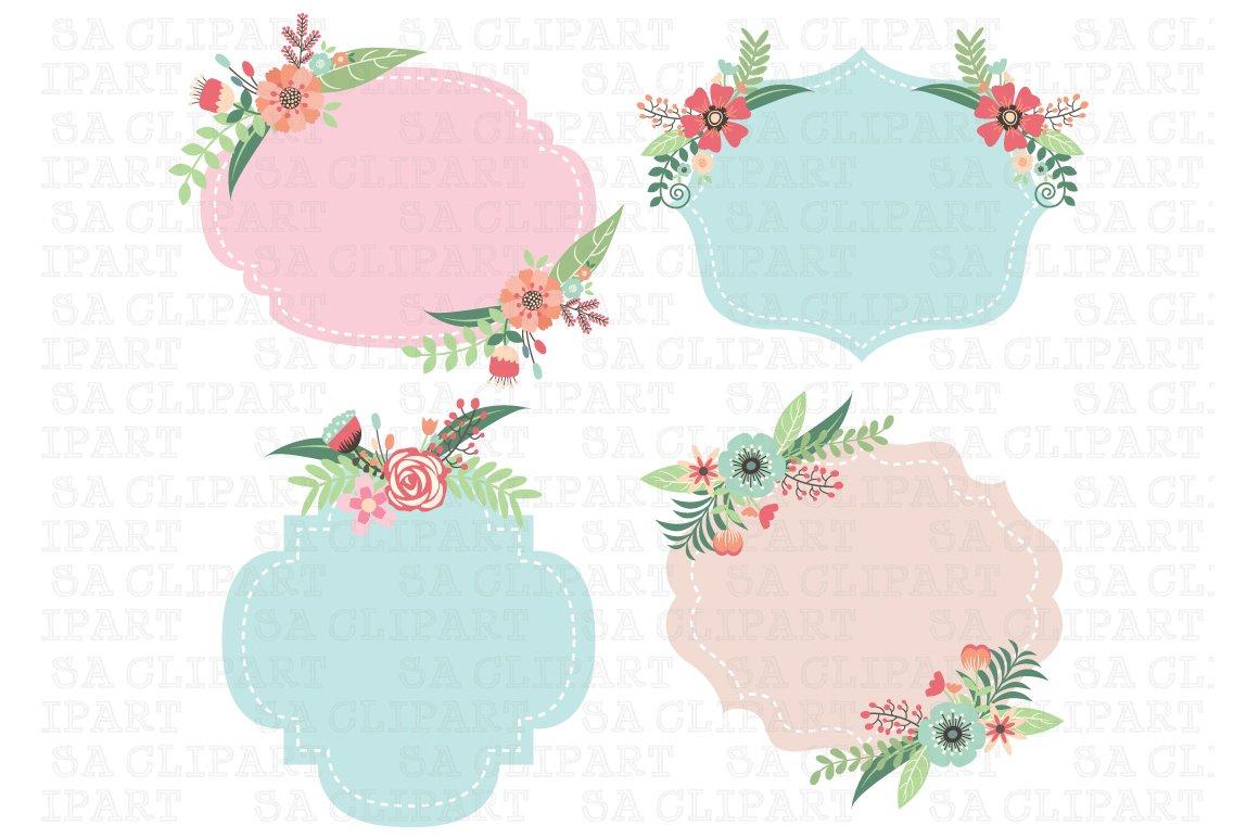 Wedding Frame Clipart ~ Illustrations ~ Creative Market
