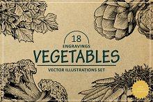 Engraving Vegetables