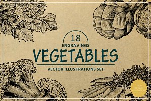 Engraving Vegetables