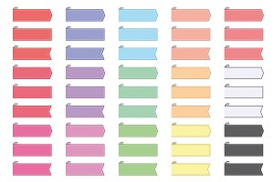 40+ Colorful Book Mark Banners