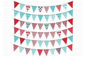 Bunting Banner Clipart