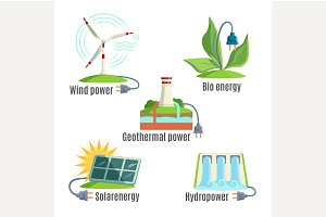 Alternative Energy Source Set