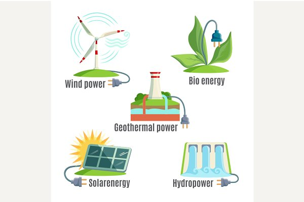 Alternative Energy Source Set