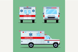 Ambulance Emergency Icon.