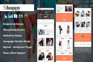 Shoppy- Responsive Email Template