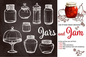 Jam in Jars Sketch Set