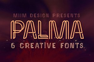 Palma - Display Font
