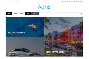 Adris – News & Magazine Theme