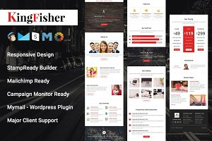 KingFisher-Responsive Email Template