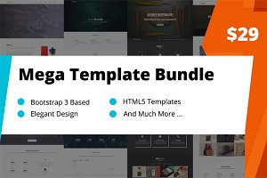 17 Bootstrap 3 Templates Bundle
