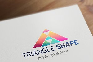 Triangle Shape logo