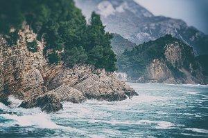Sea landscape, Montenegro