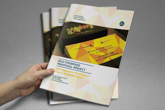 Corporate Proposal Template ~ Stationery Templates ~ Creative Market