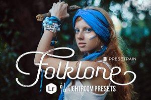 Folklore Lightroom Preset Pack