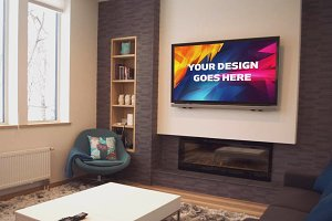 Television Display Mock-up#15