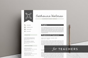 5 page Teacher Resume | Educator