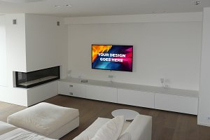 Television Display Mock-up#26