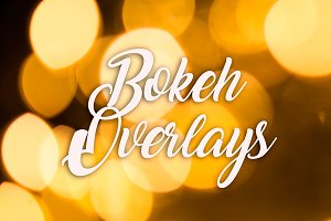 Bokeh Overlays - Photo overlays