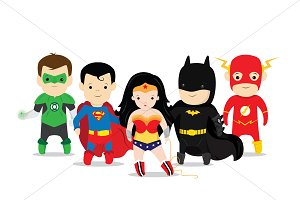 Kids Super Hero Characters