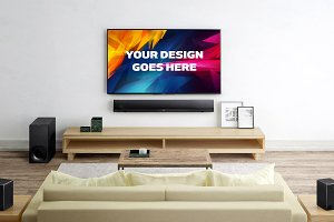 Television Display Mock-up#27