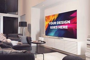 Television Display Mock-up#29