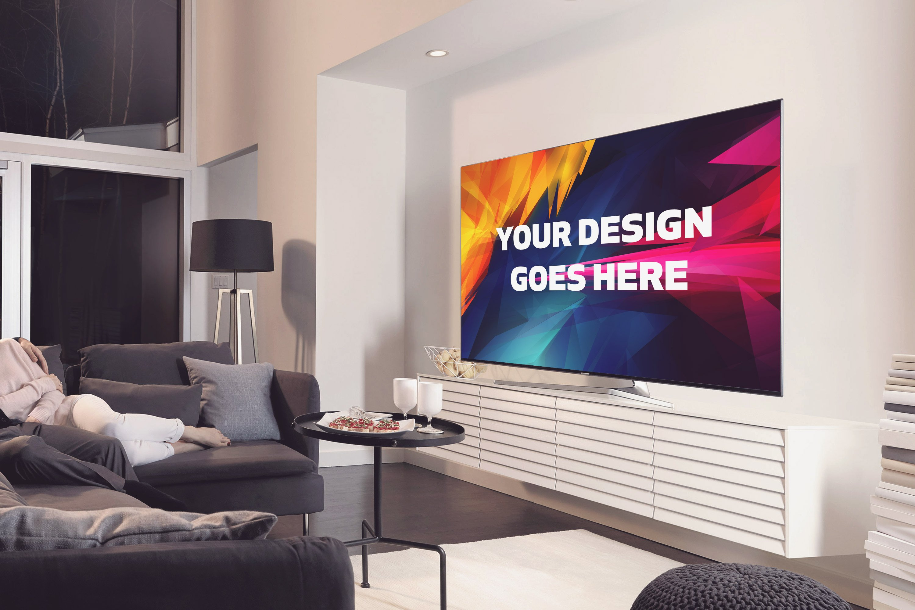 Television Display Mock Up 29 Mockup Templates