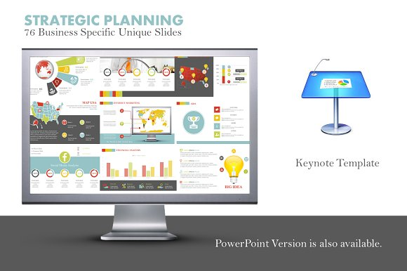 strategic planning keynote template presentation templates