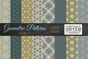 Blue & Green Pattern Collection