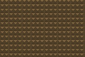 Background of brown shapes