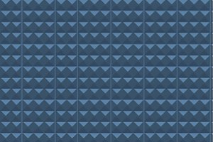 Background of blue geometric shapes