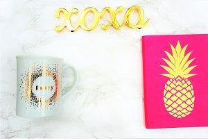 Coffee + Pineapple Glam