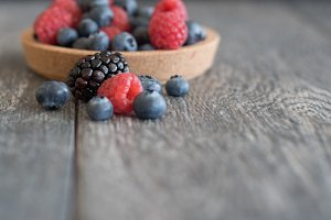 Berries Styled Stock Photo