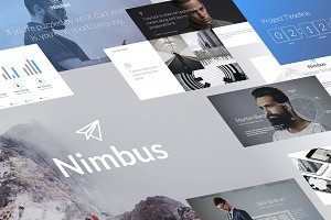 Nimbus - Creative Keynote Template