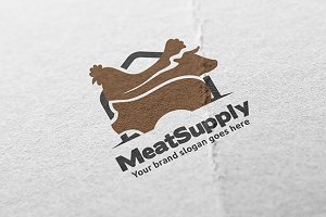 Meat Supply Logo