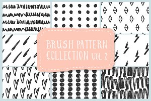 Brush pattern collection vol2