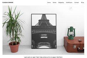 Caruso - Artist Portfolio & Art Shop
