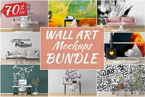 Wall Art Mockups BUNDLE V15