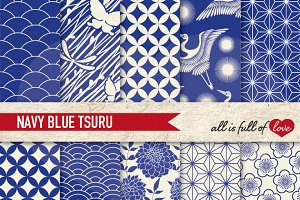Japanese Navy Blue Backgrounds