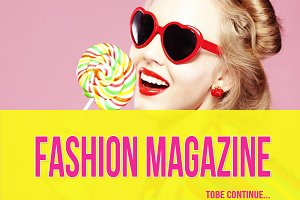 FASHION MAGAZINE GOOGLE SLIDE