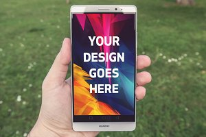 Android Display Mock-up#38