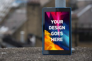 Tablet Display Mock-up#19