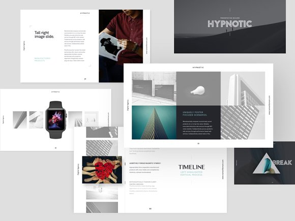 hypnotic keynote presentation theme presentation templates