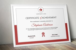 Corporate powerpoint certificate