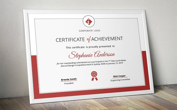 corporate powerpoint certificate stationery templates creative