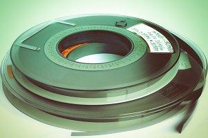Vintage tape reel