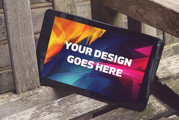 Tablet Display Mock-up#24
