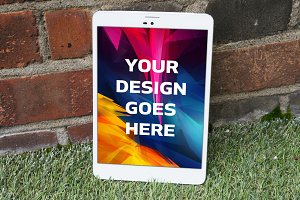 Tablet Display Mock-up#23